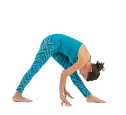 intense side stretch pose parsvottanasana stepstep
