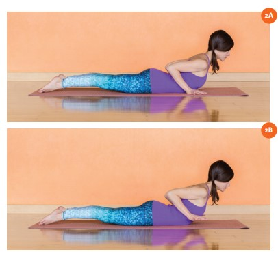 strong arms  strong core  yogahood